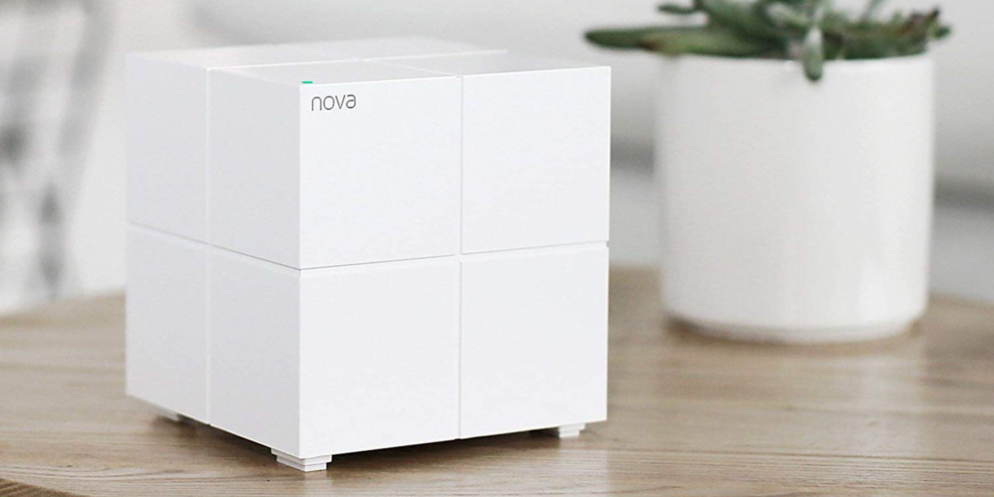 For $80, Tenda's Nova Mesh Wi-Fi System will cover 4,000 square feet (All-time low)