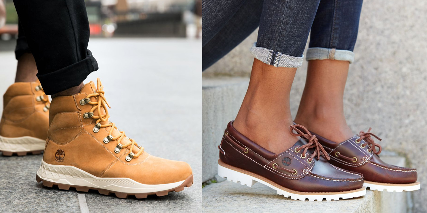 Timberland's Get Outside Sale cuts an extra 20% off select boots & sneakers+ free shipping