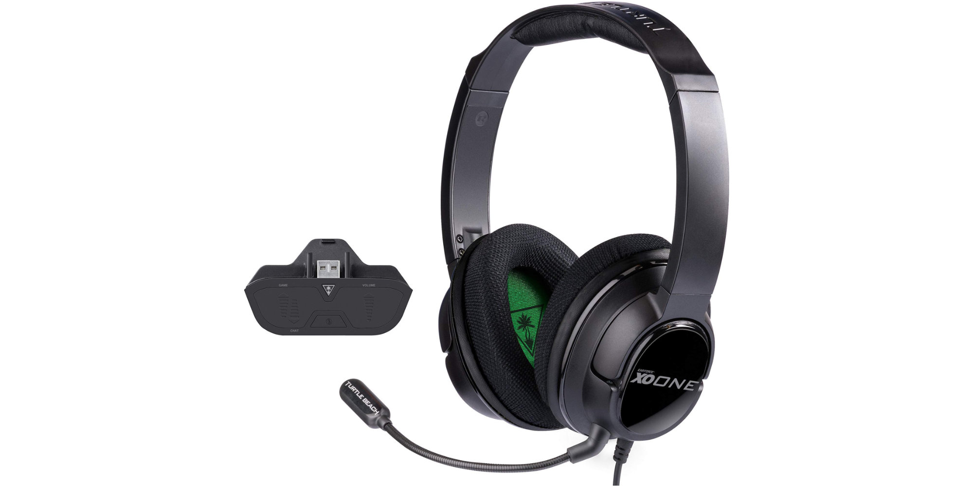 This Turtle Beach Ear Force One Headset is paired w/ a Xbox audio controller: $47 (Save $20)