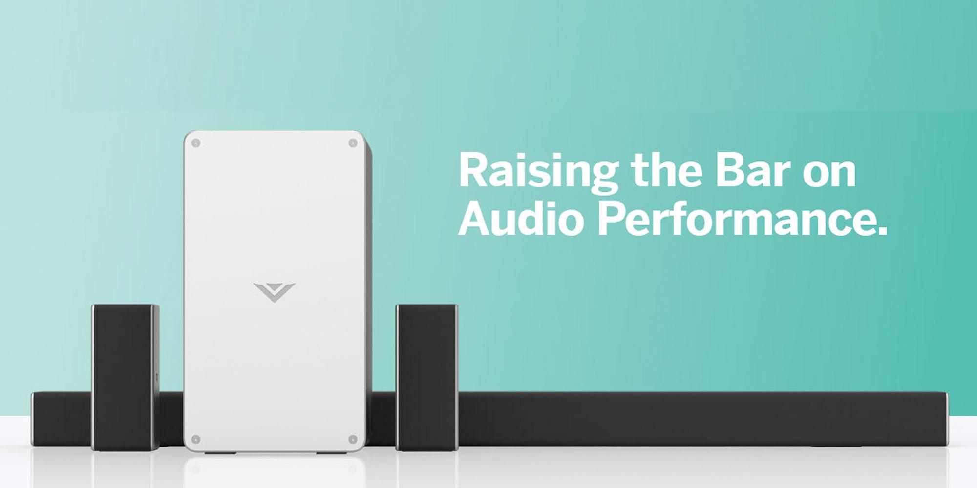 VIZIO's 36-inch 5.1-Ch. sound bar offers Assistant & Chromecast for $130 (Refurb, Orig. $250)