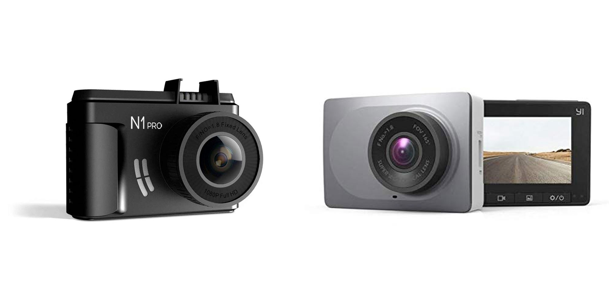 YI's 1080p 60FPS dash cam offers driver assistance from $40, more