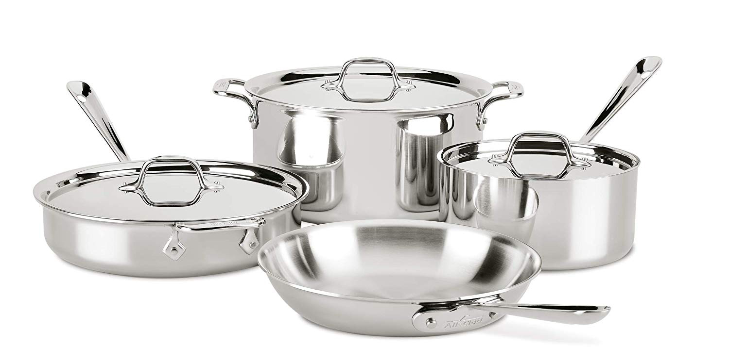 All-Clad cookware is on sale today at new Amazon all-time lows from $154