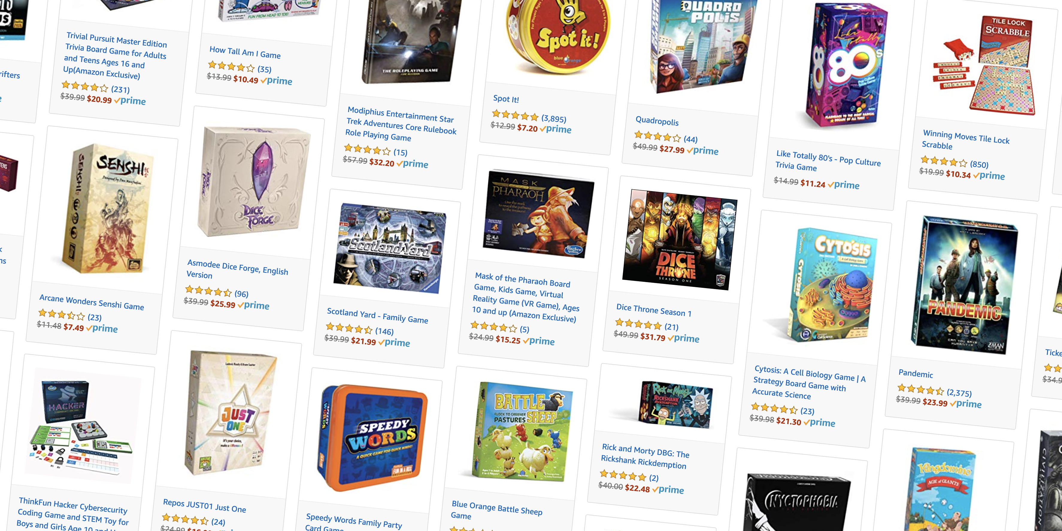 Amazon's board game Gold Box starts at $4: Nintendo Monopoly, Jena, Catan, much more
