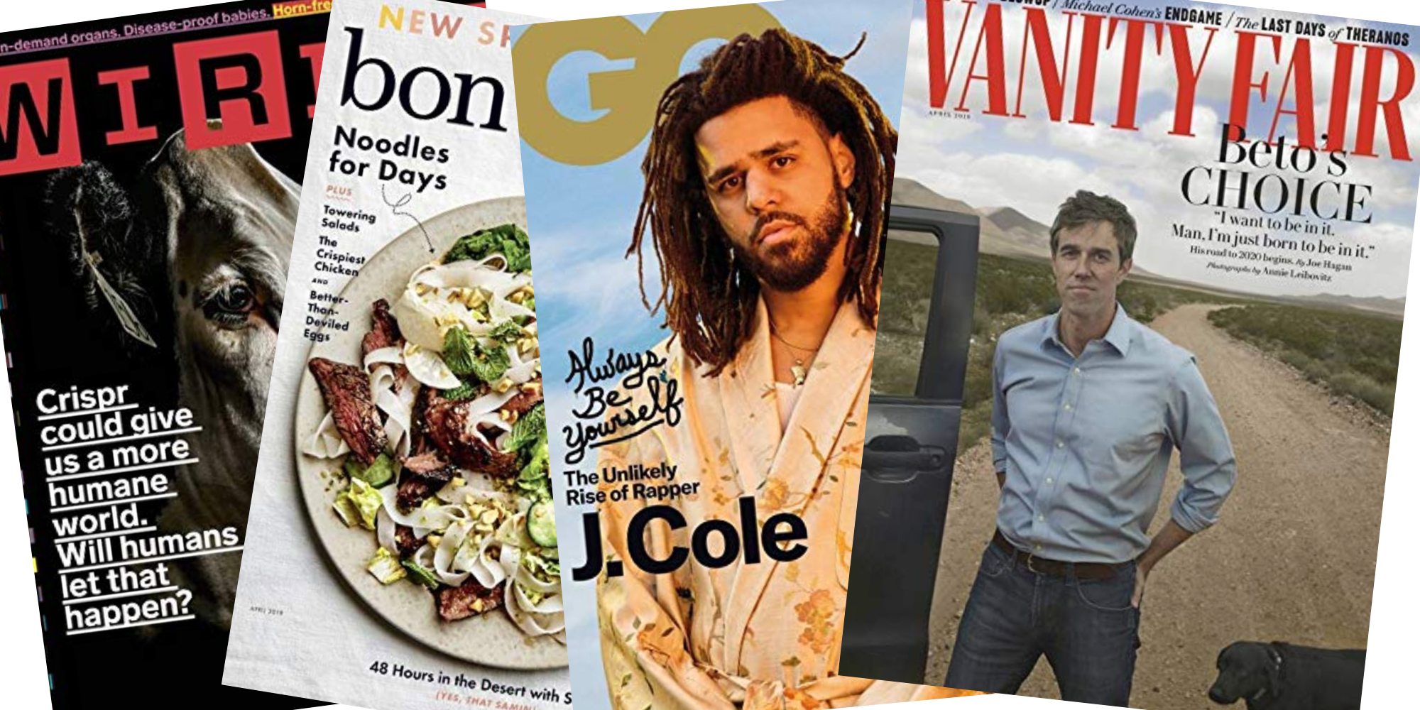 Amazon offers Prime members magazine subs for $1: Wired, GQ, Vanity Fair, many more