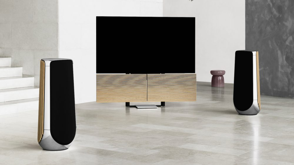 Beovision Harmony speakers and TV