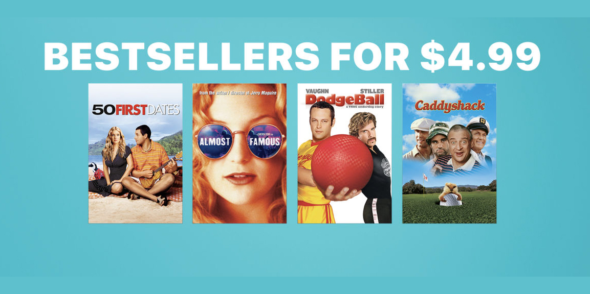 This week's best iTunes movie deals: $5 best-sellers, iTunes Extras under $10, Star Wars, more