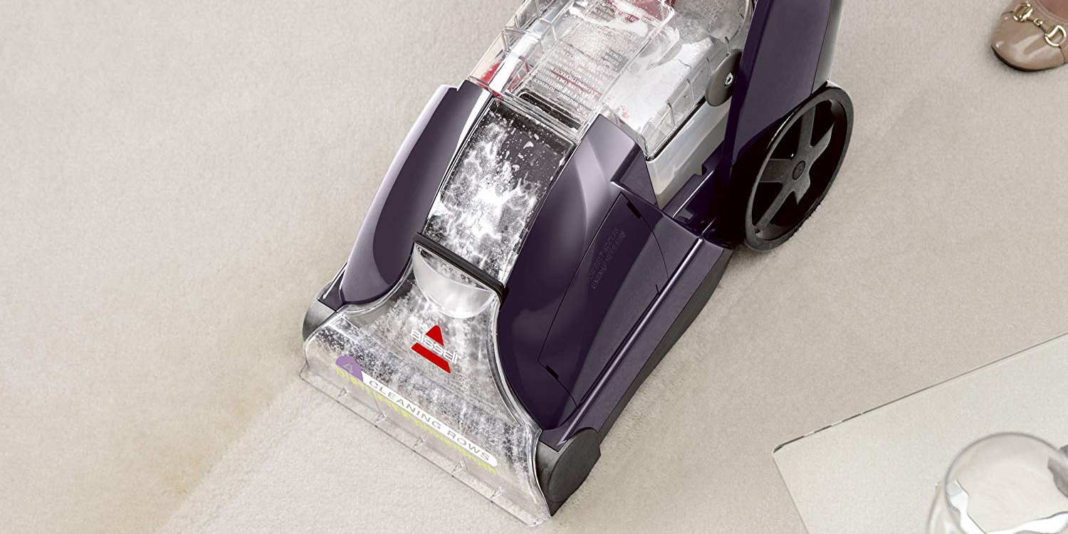 Clean your carpets with a top-rated Bissell PowerLifter Shampooer for $60 (Reg. $100)