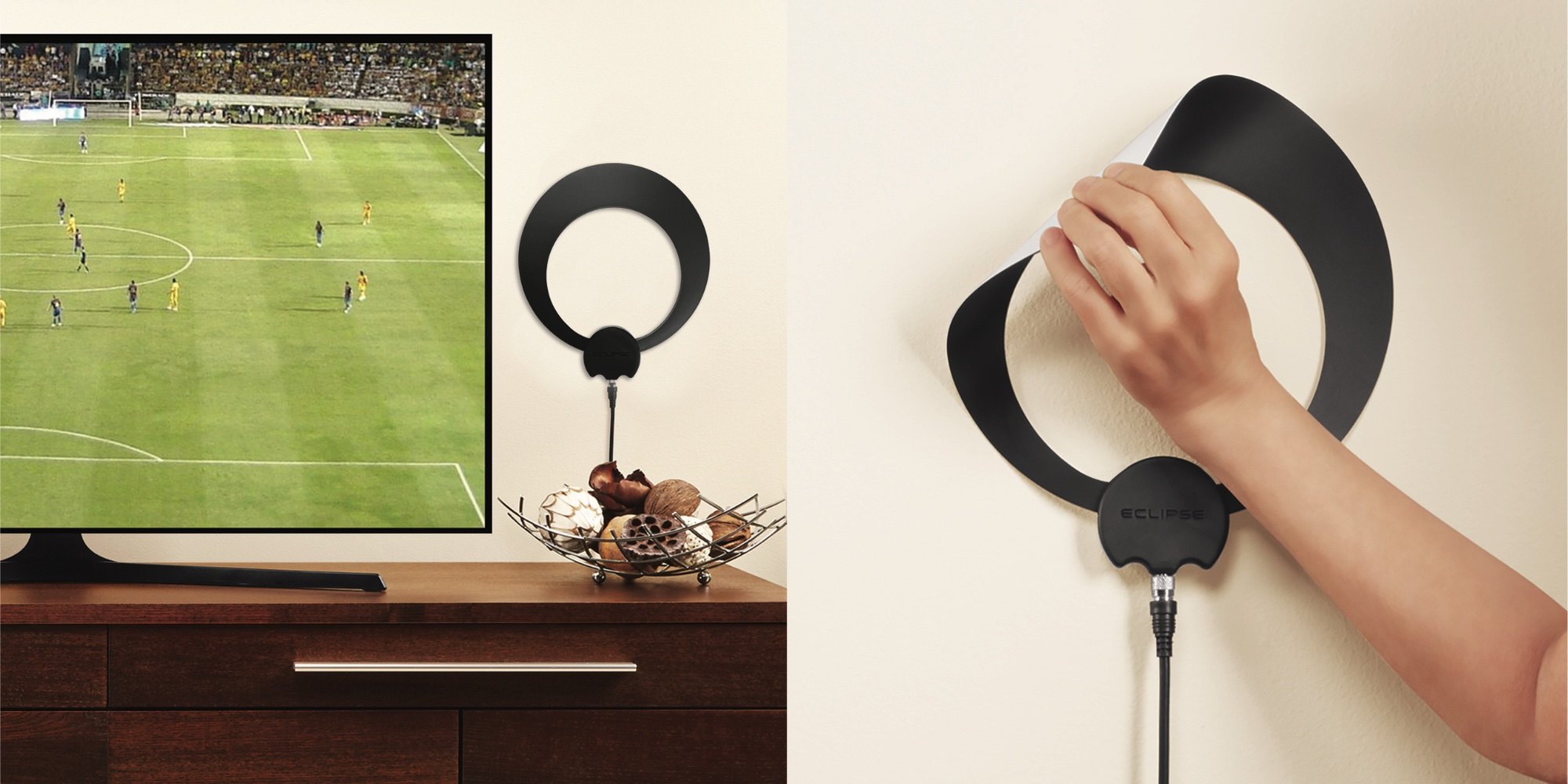 This ClearStream Eclipse Amplified TV Antenna features a 50-mile range: $39 (Reg. $60)