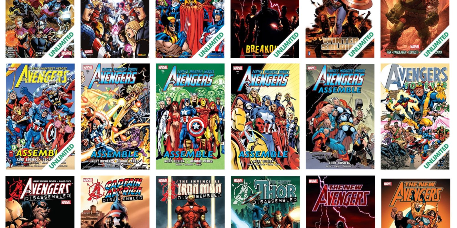 ComiXology's Avengers Blockbuster sale takes up to 67% off Marvel digital comics from $3