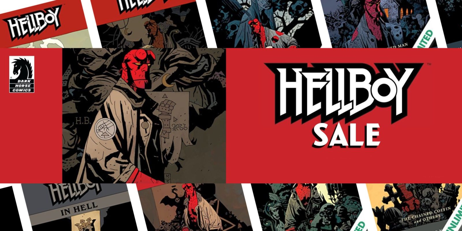 Expand your digital comic library w/ Hellboy, Attack on Titan and other issues from $1 at ComiXology