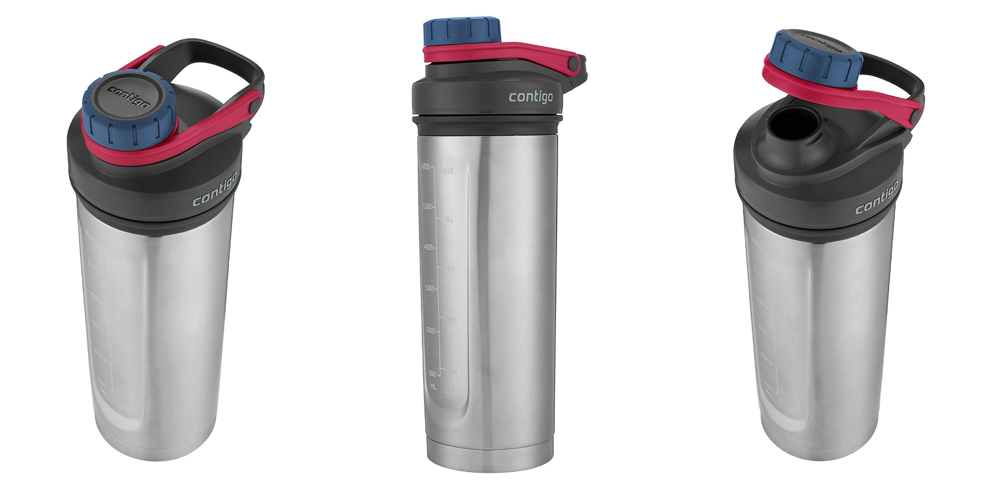 Contigo's Vacuum-Insulated Shake & Go Bottle returns to Amazon low at $6 Prime shipped