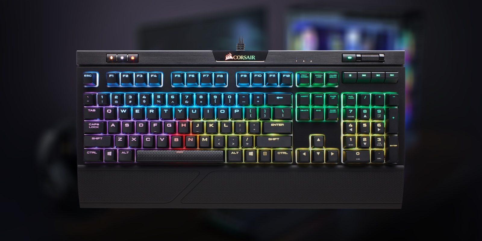 CORSAIR's RGB MK 2 RAPIDFIRE Gaming Keyboard drops to $119 (24% off