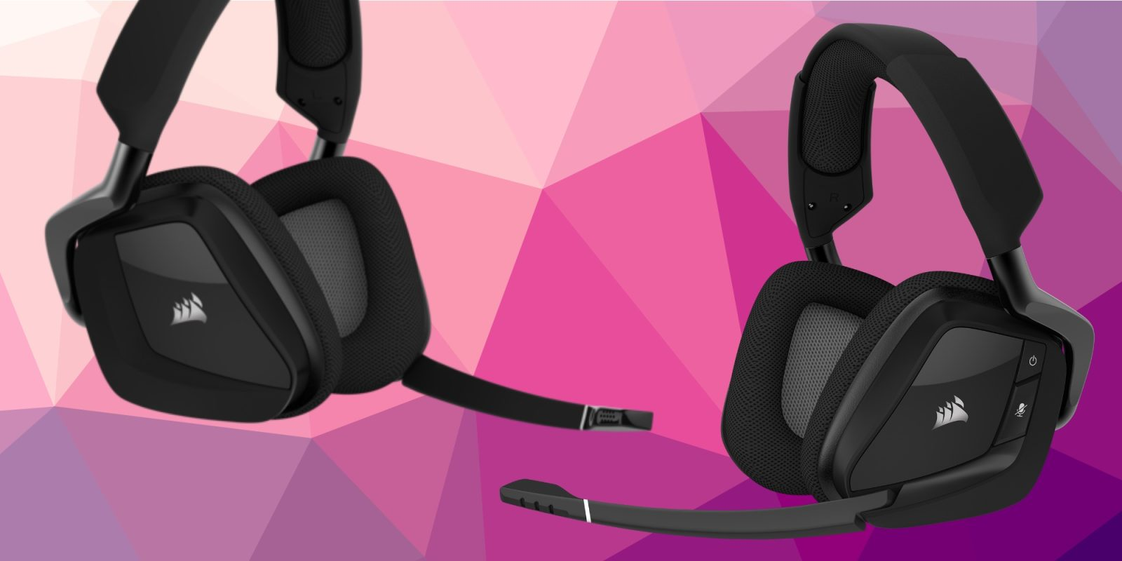 Level up your game with CORSAIR's VOID Pro RGB Headset at