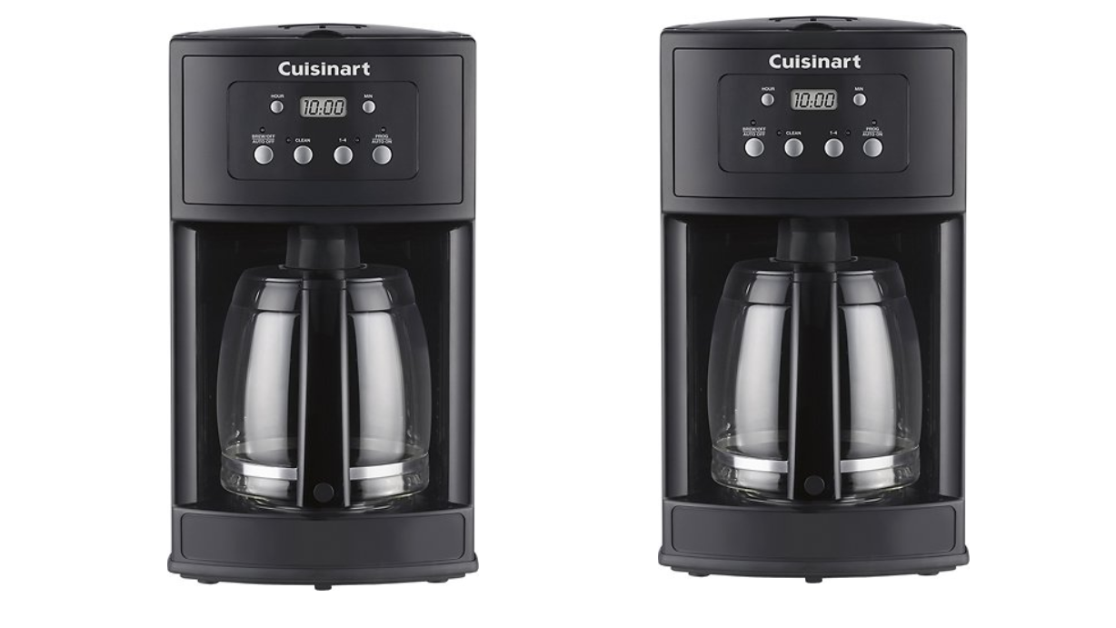 Get your caffeine fix w/ the Cuisinart Premier 12-Cup Coffee Maker for $35 (Reg. up to $60)