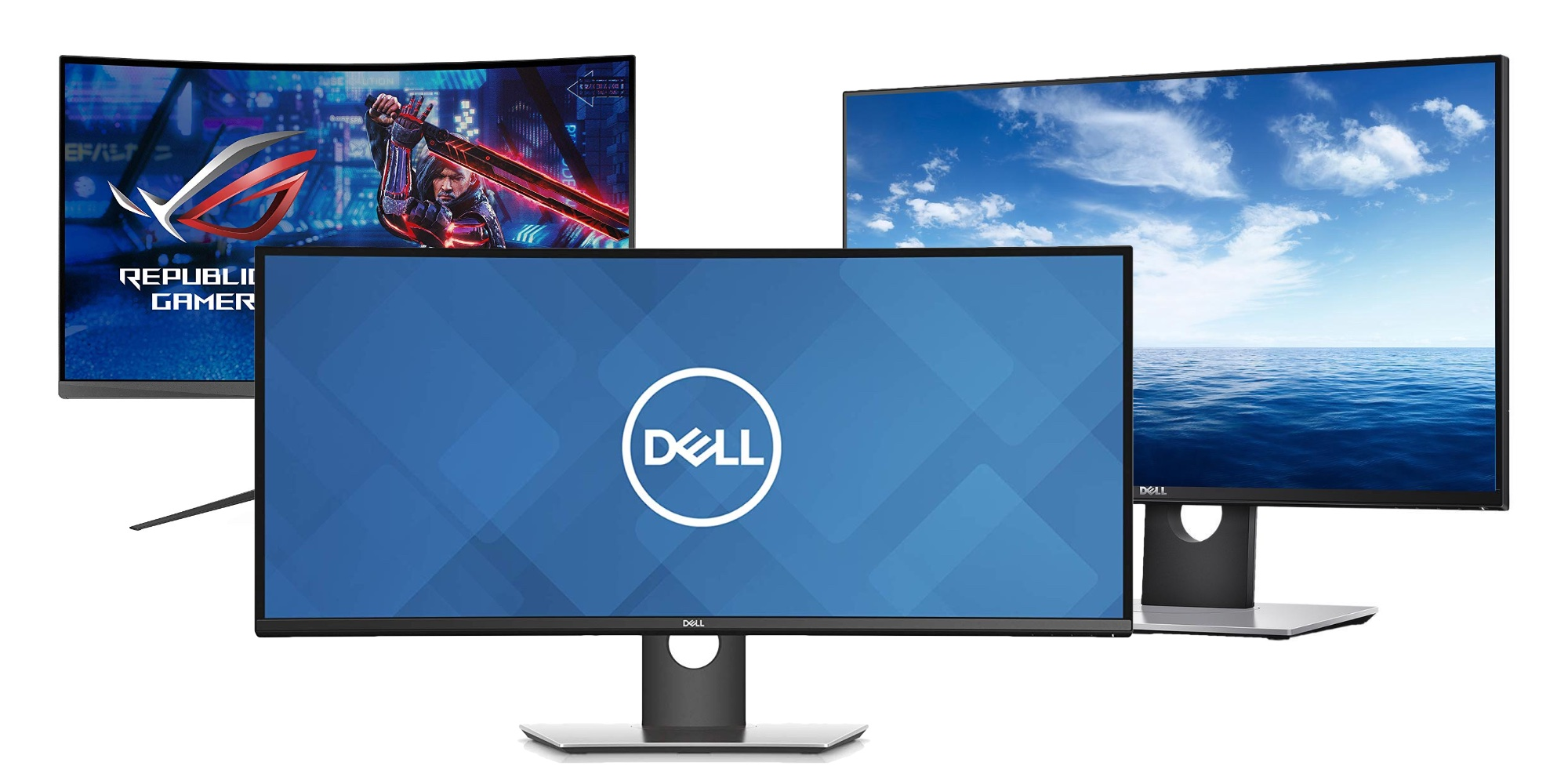 Equip your workstation with a new monitor: Dell 27-inch 1440p $470 (22% off), more from $380