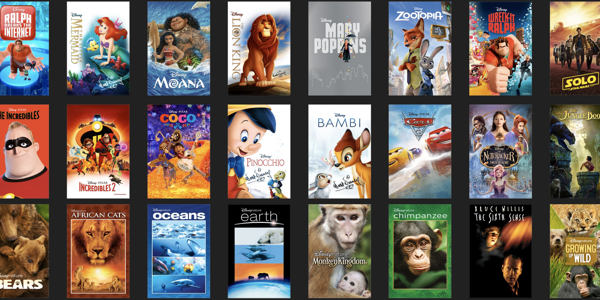 This week's best iTunes movie deals: $15 Disney film sale, action titles from $5, $1 rental, more