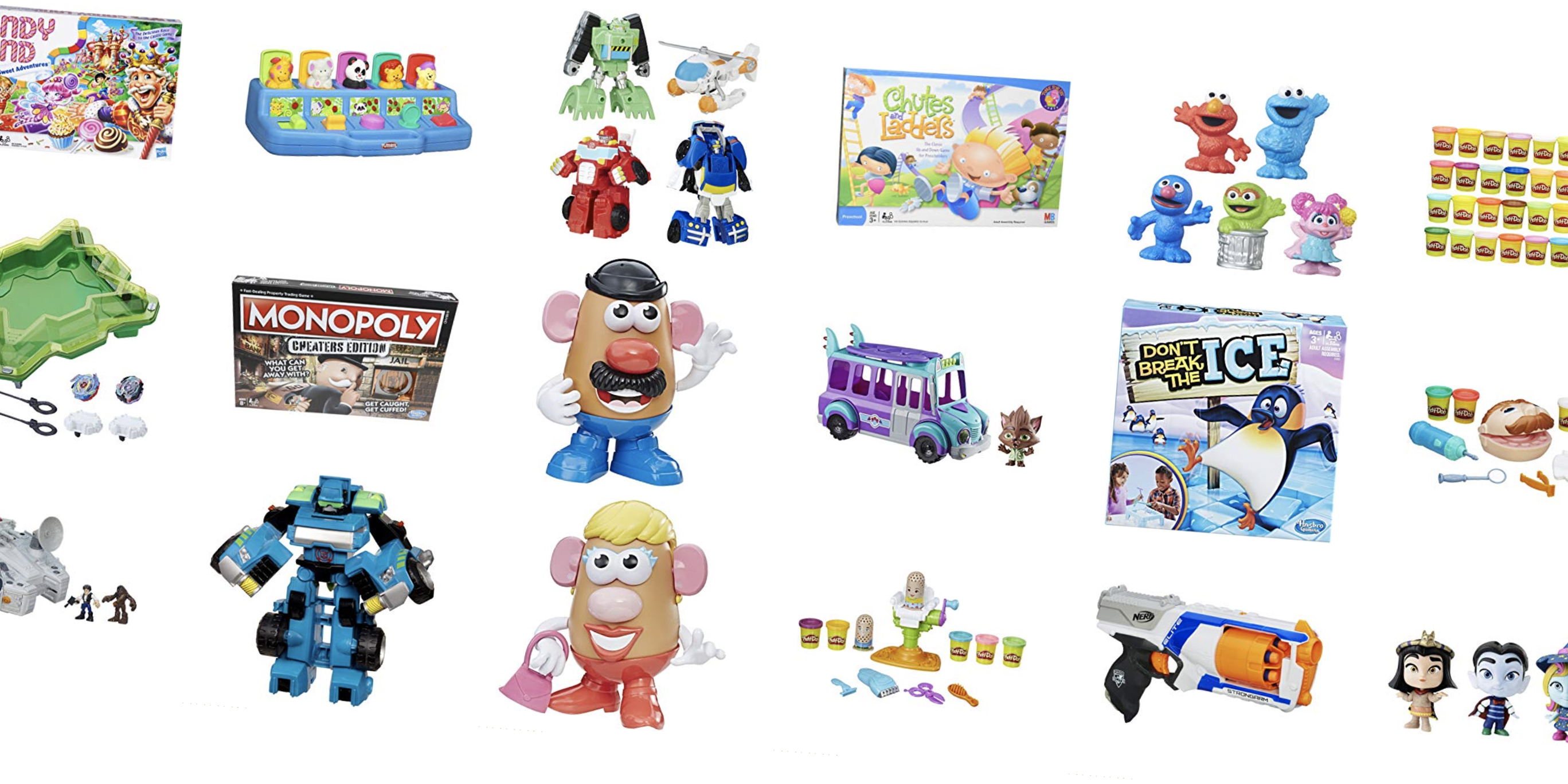 Hasbro toys fill today's Amazon Gold Box from $5: NERF, Play-Doh, board games, more
