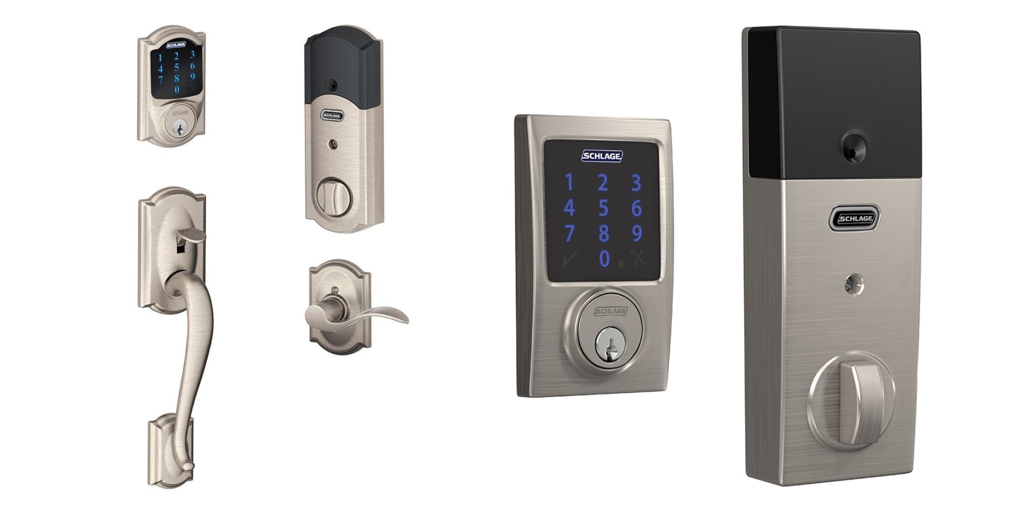 Schlage's Connect Z-Wave Smart Lock is down to $179 (Reg. $270) + up to 40% off more from $54