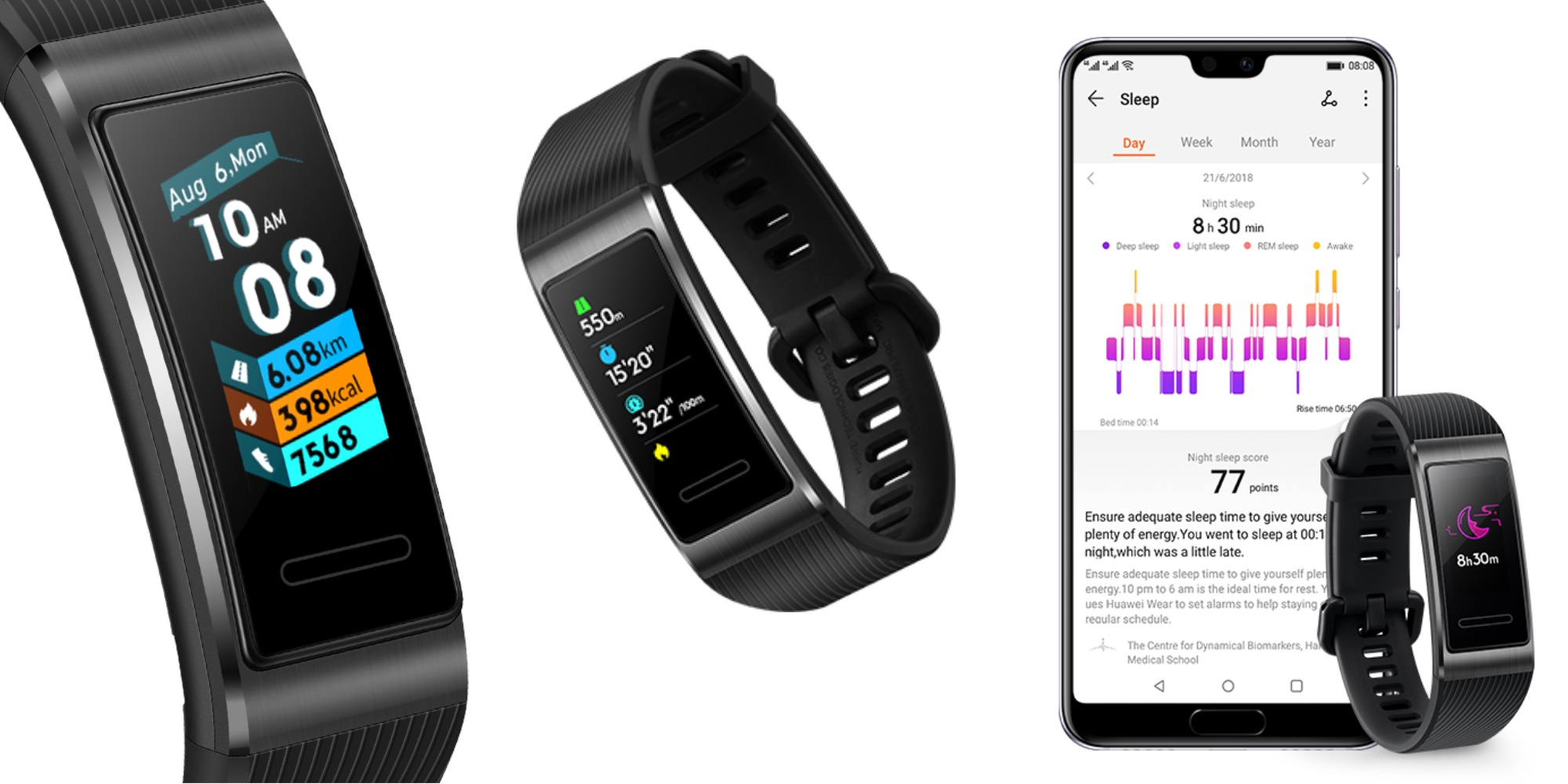 Built-in GPS & 17-day battery life headline Huawei's $60 Band 3 Pro Fitness Tracker (All-time low)
