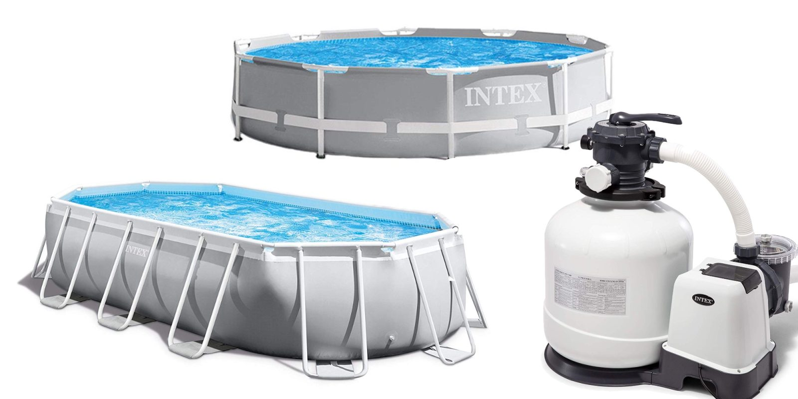 Save 25% or more on Intex Above Ground Pools and accessories ...