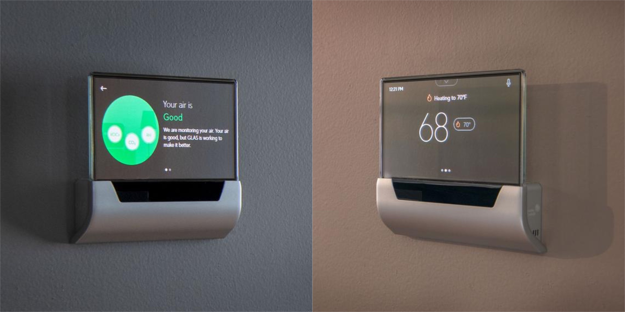 The GLAS Alexa-enabled Thermostat touts a transparent display, drops to $249 (22% off)