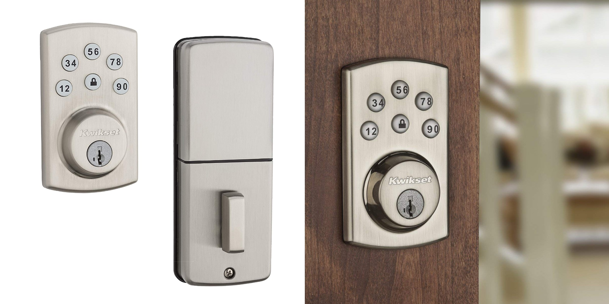 Kwikset's Powerbolt SmartKey Deadbolt thriftily adds a passcode to your entry: $50 (Amazon low)