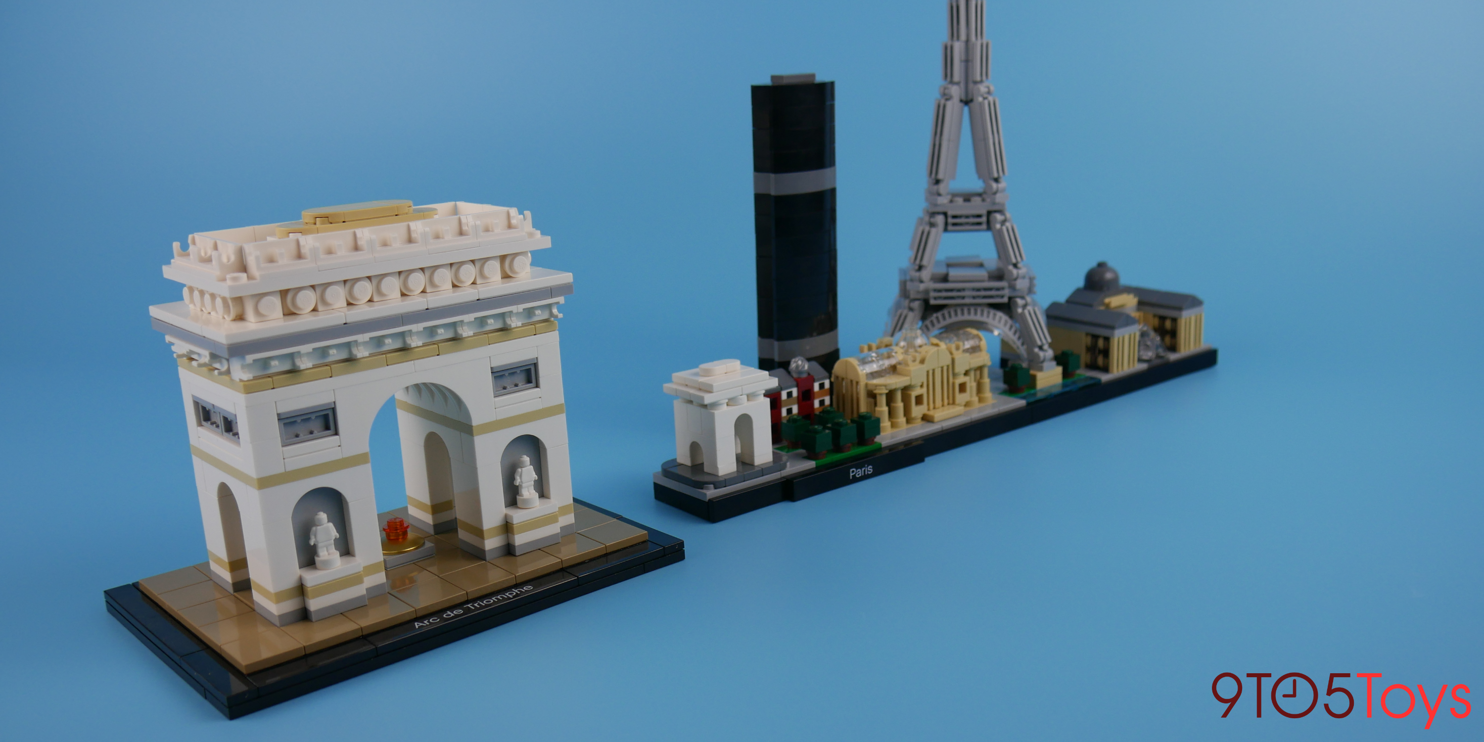Arc De Triomphe Comparison