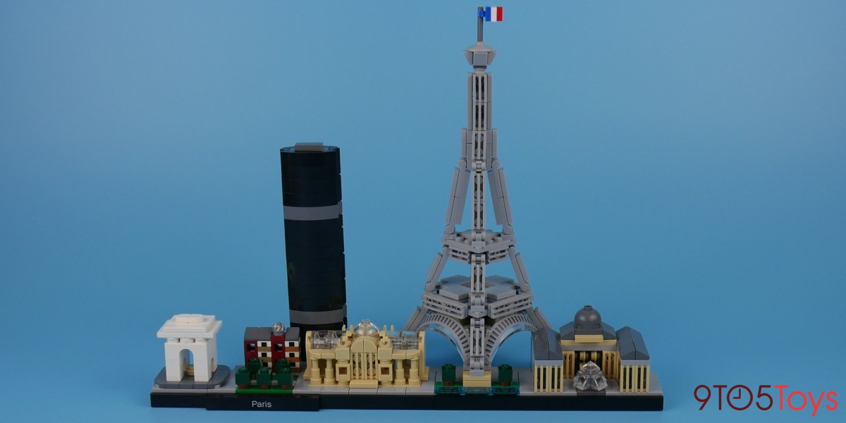 LEGO Paris Skyline