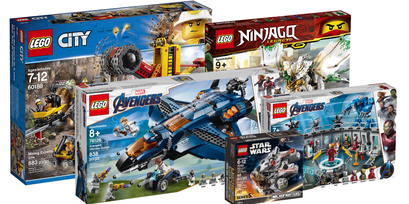 Save 20% on three new Avengers: Endgame LEGO kits from $28 ...