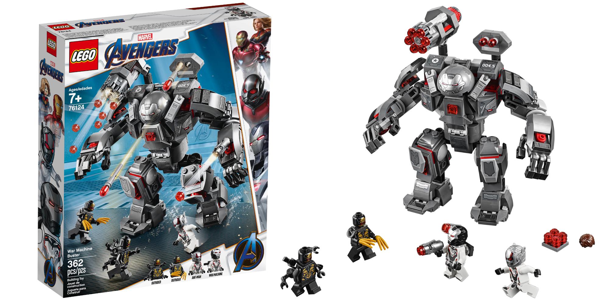 LEGO Avengers Endgame War Machine Buster