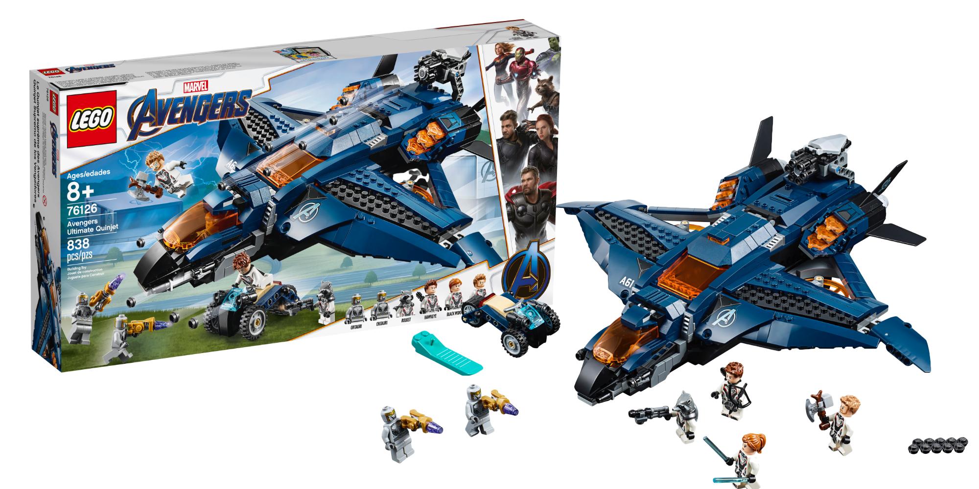 LEGO Avengers Endgame Kits