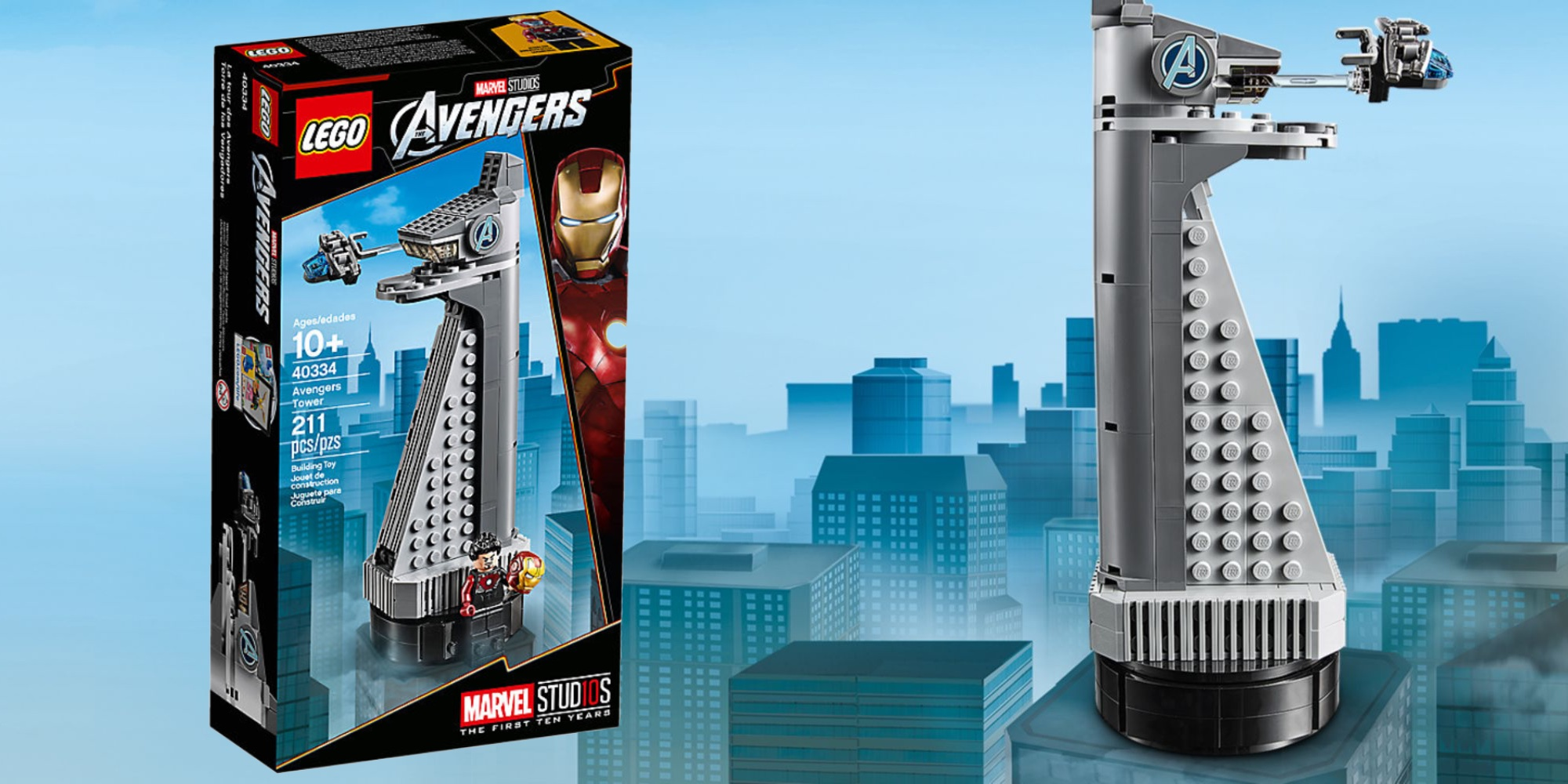 LEGO assembles new micro-scale Avengers Tower, here's how to add it to your collection for FREE