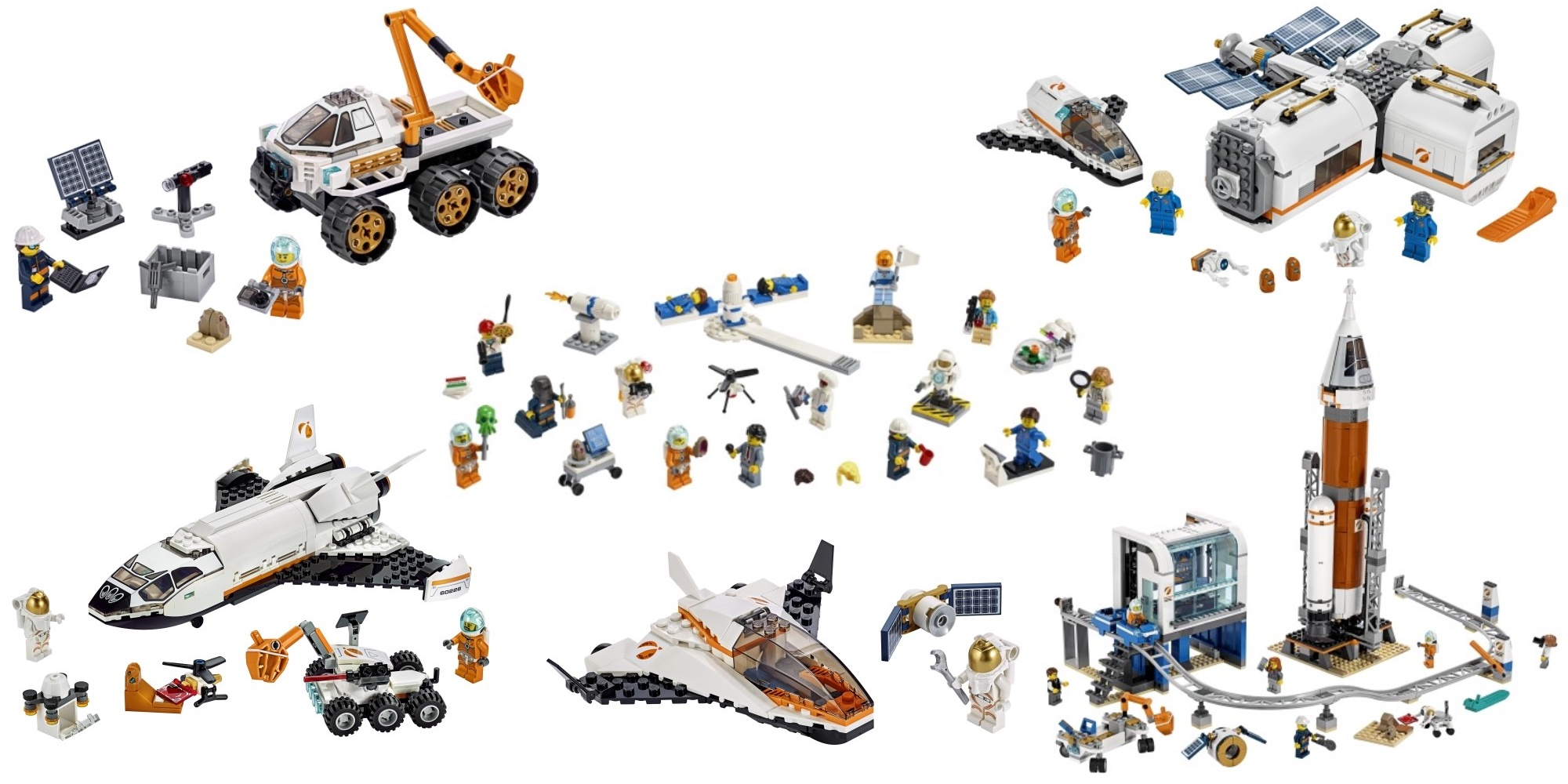 LEGO City Space Sets join new Creator builds this summer - 9to5Toys