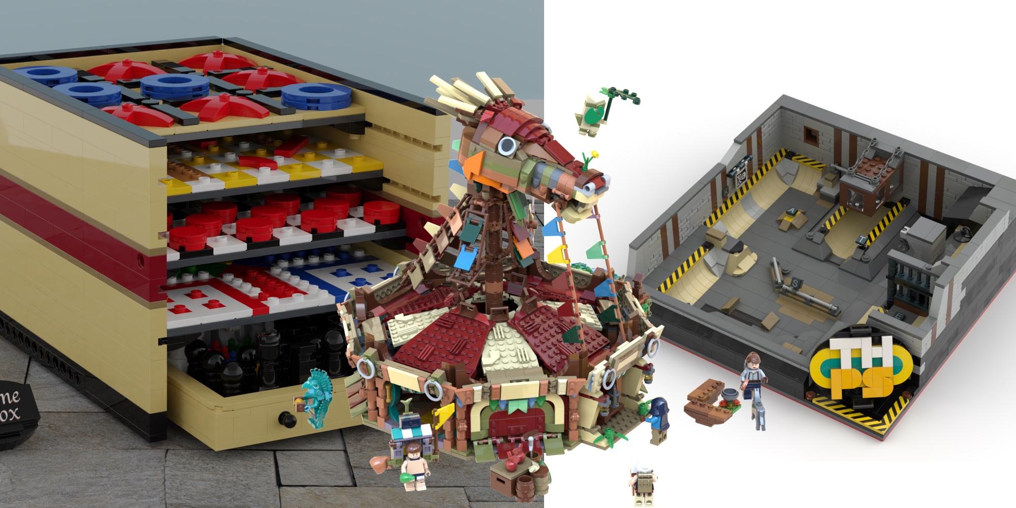 Best LEGO Ideas April Group Shot