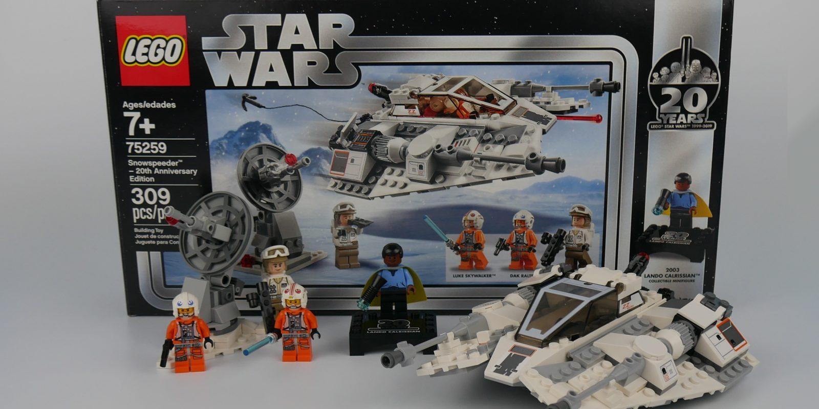 LEGO 20th Anniversary Snowspeeder - brick-built nostolgia - 9to5Toys