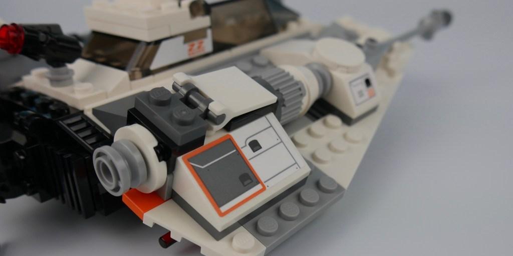 Snowspeeder engine detail