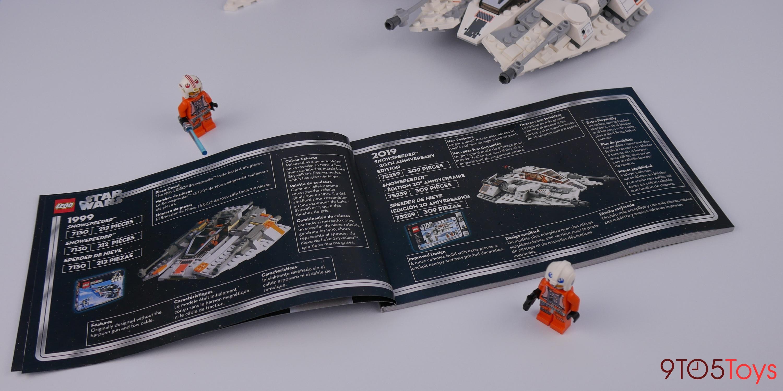 LEGO 20th Anniversary Snowspeeder instructions
