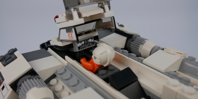 Snowspeeder rear gunner position