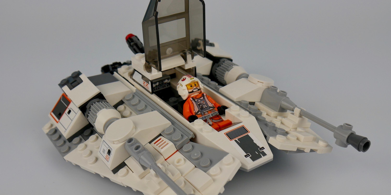 LEGO 20th Anniversary Snowspeeder cockpit