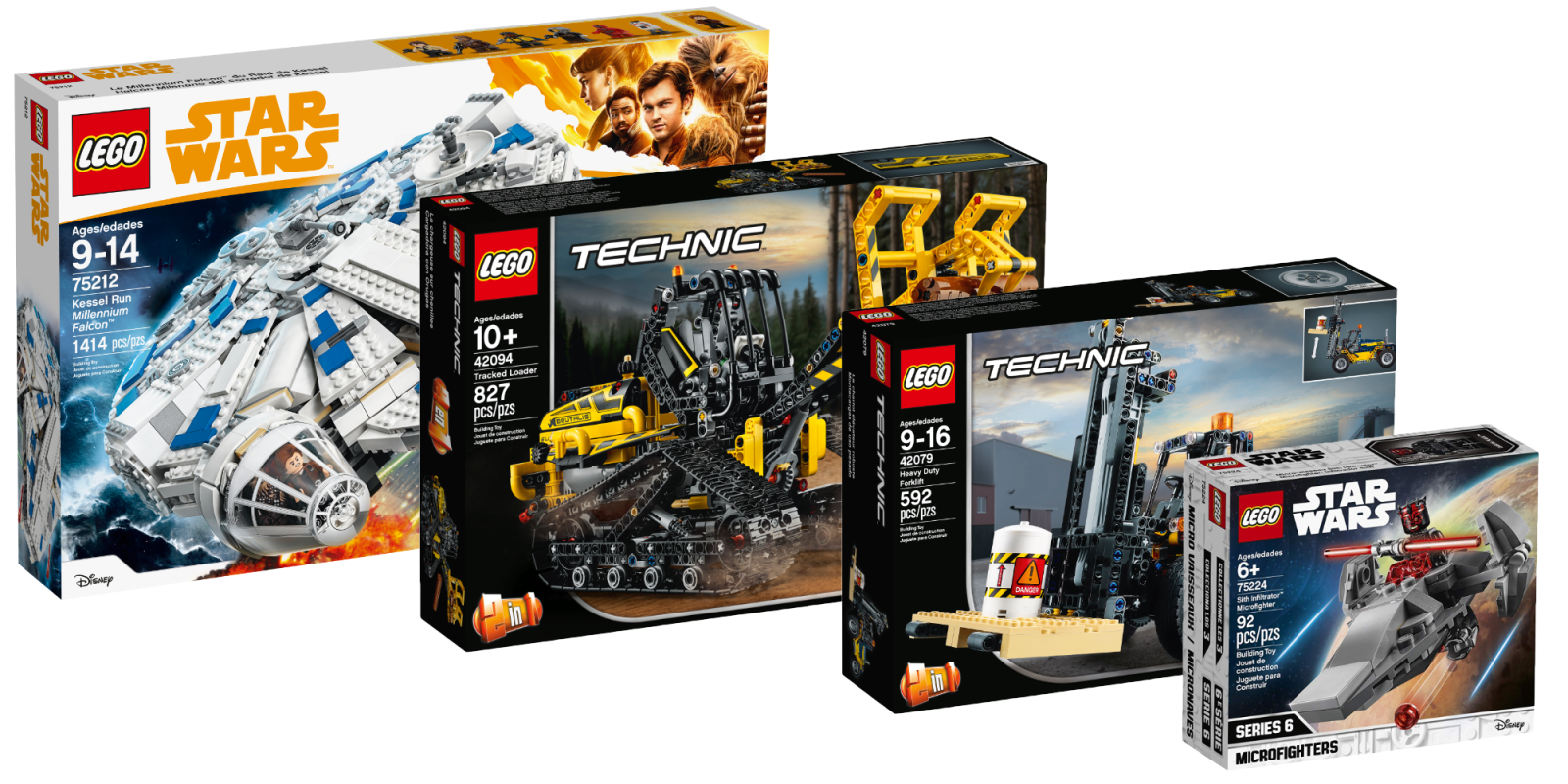 Assemble notable savings on LEGO Star Wars, Technic, Jurassic World sets and more from $7