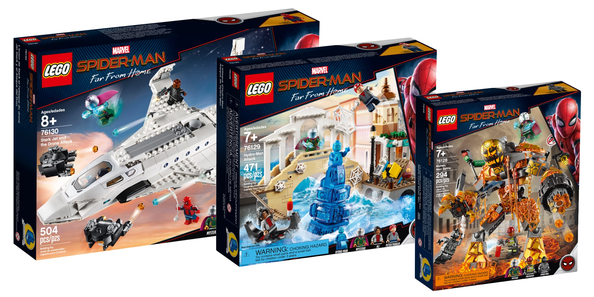 Save 20% on LEGO's all-new Spider-Man: Far From Home kits starting at $24 + more from $16