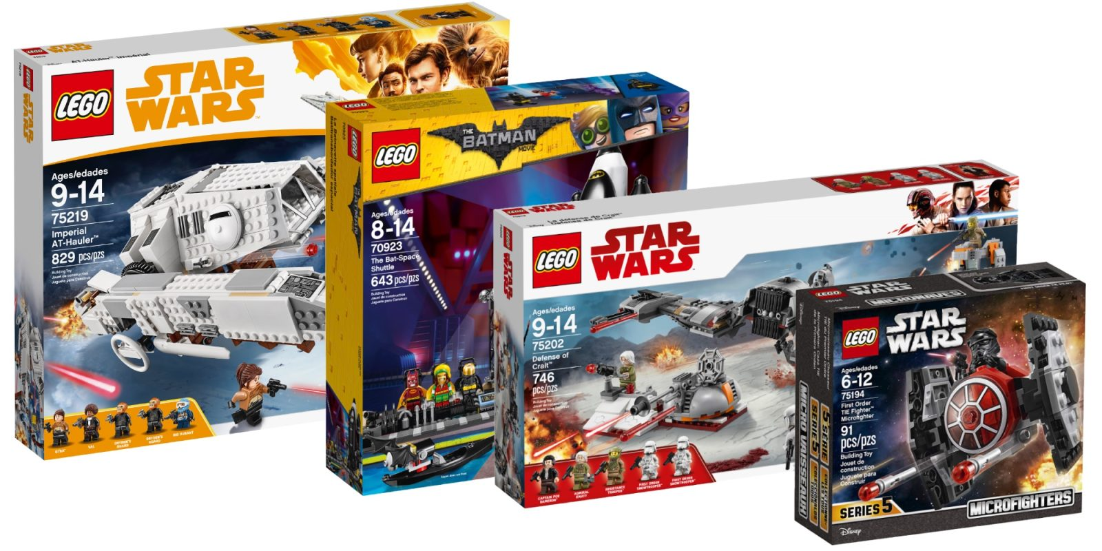 Save On Lego City Creator Batman Star Wars And More With Deals