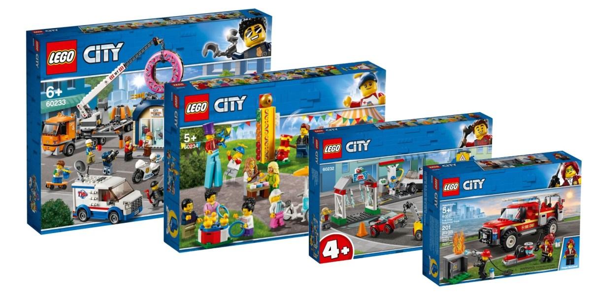 LEGO Summer City kits