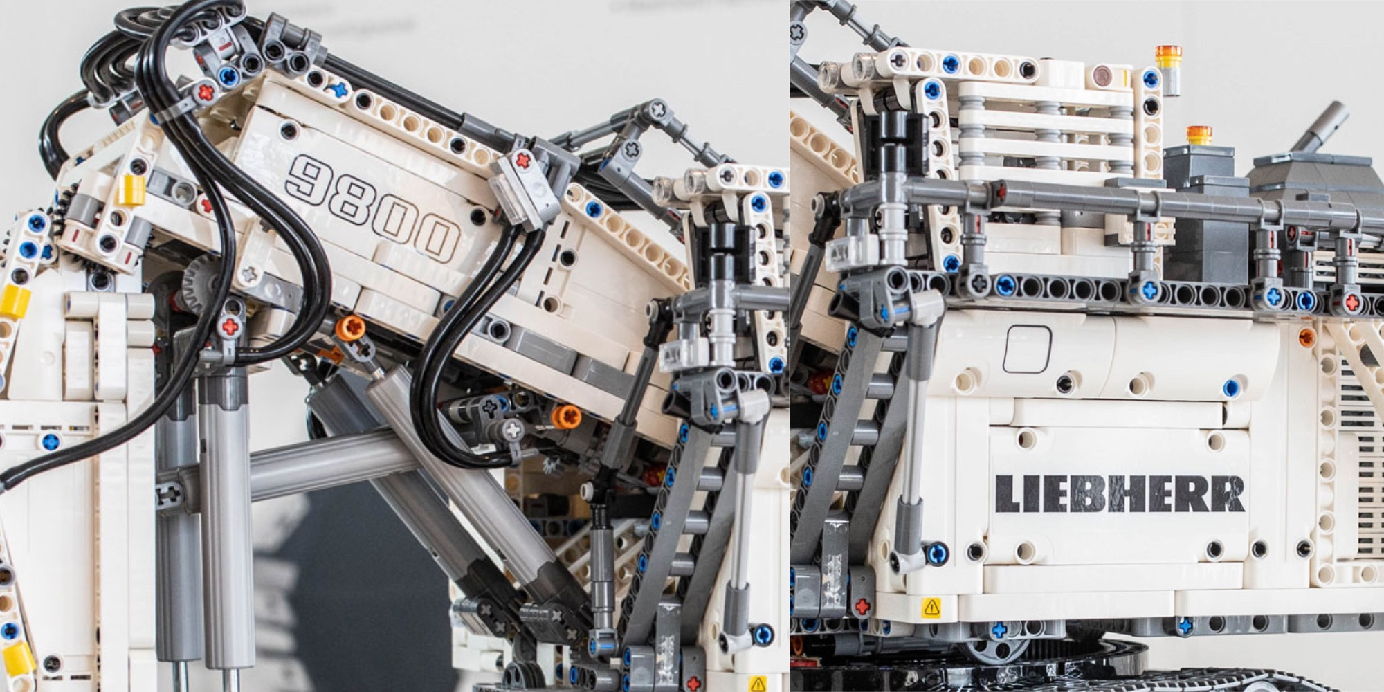 LEGO's upcoming 4,100-piece Technic Liebherr R 9800 is the 7th largest set to date