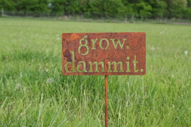 81 metal art amazon handmade garden stake