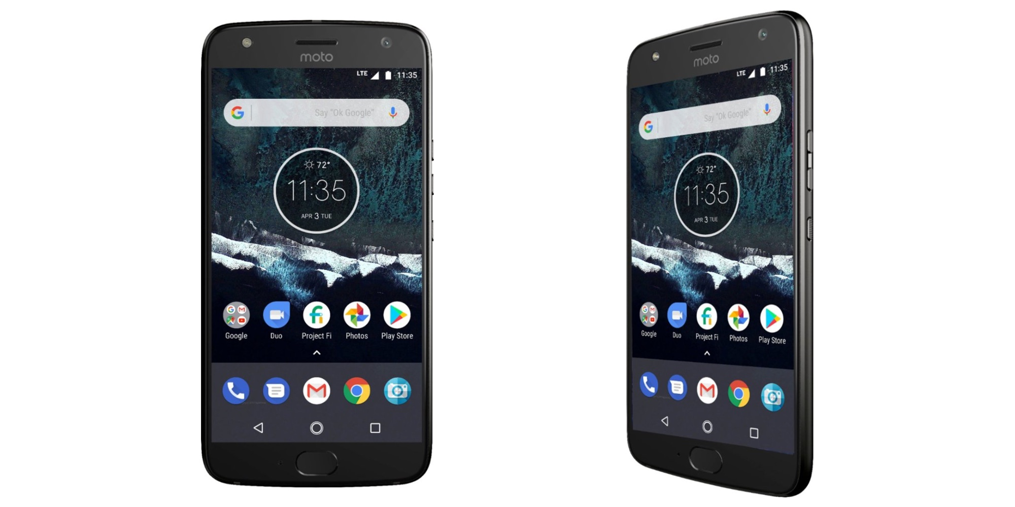Motorola's Moto X4 Android One 64GB Smartphone includes a FREE $30 SIM card kit at $200