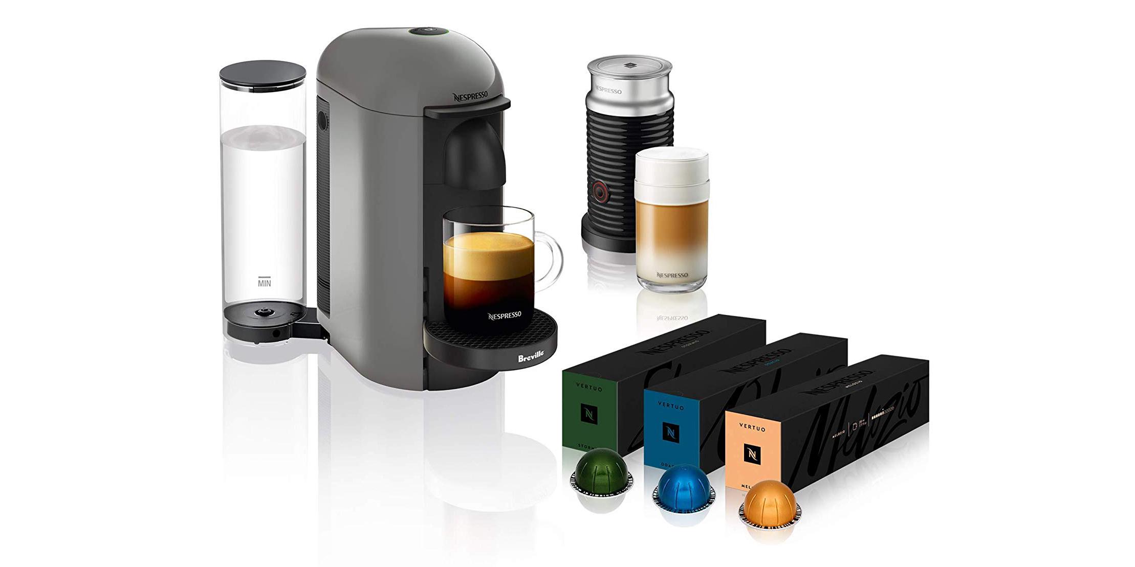 Up your coffee game: Nespresso espresso machine bundle for $130 shipped (Reg. $200)