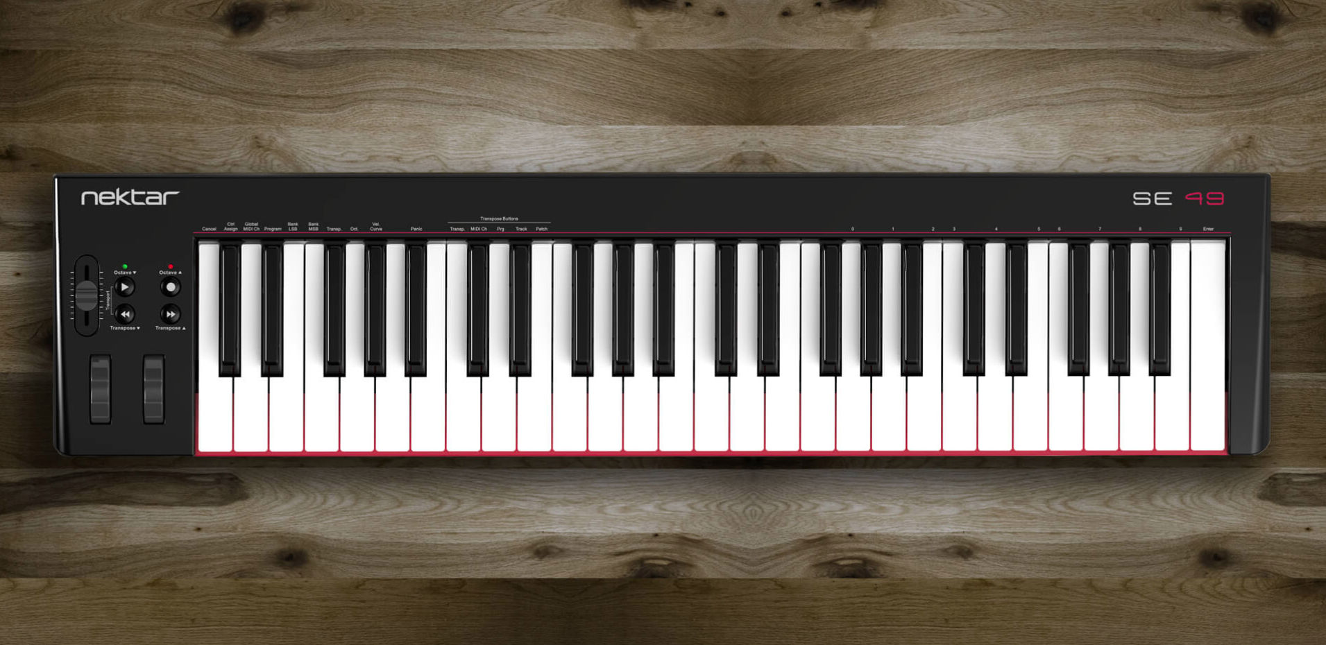 New affordable MIDI keyboard controllers from Nektar