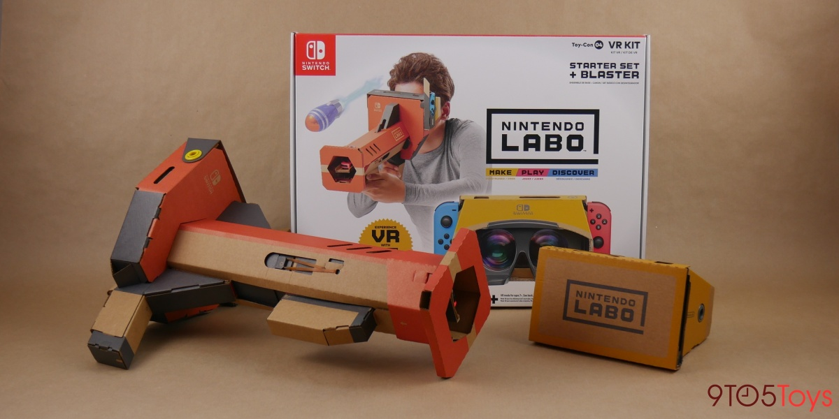 Nintendo Labo VR Kit Lead
