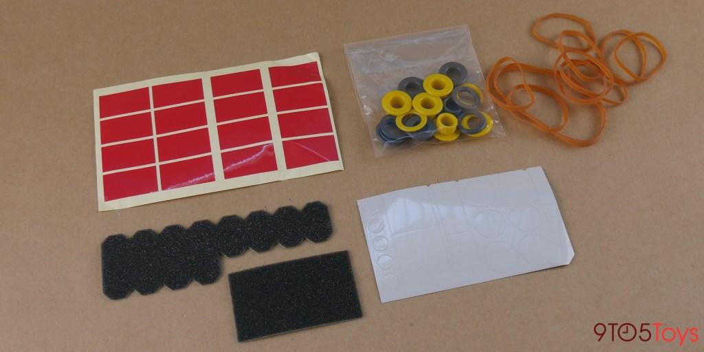 Cardboard accessories